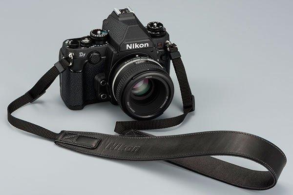 Nikon Df Leather Strap Black An Spl001 Nikon Df