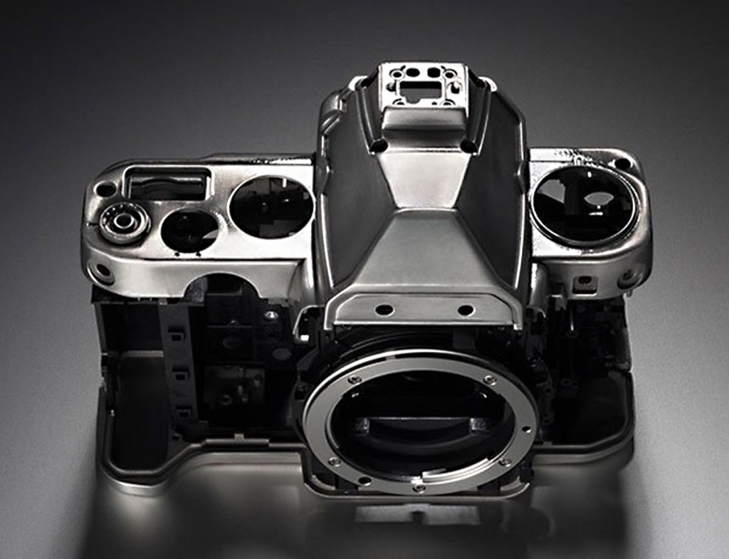 Nikon Df camera magnesium-alloy body