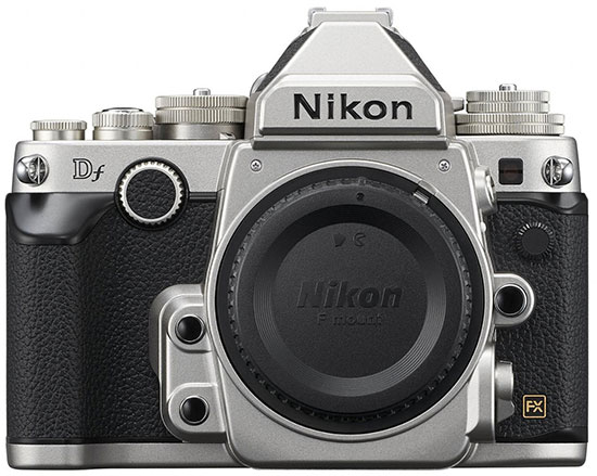 Nikon Df silver body is the top seller