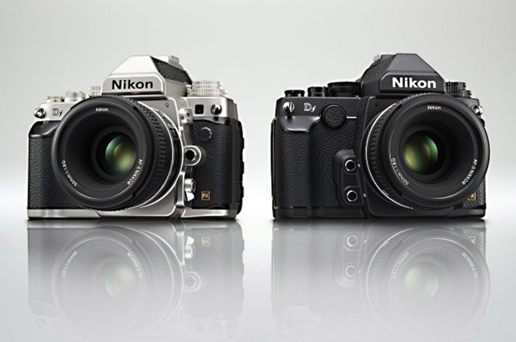 Nikon Df camera black and silver